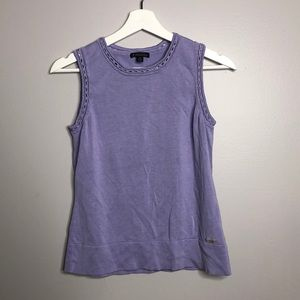 Brooks Brothers Silk and Cotton Blend Top